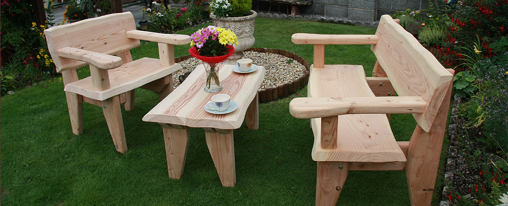 How to buy for Rustic garden furniture