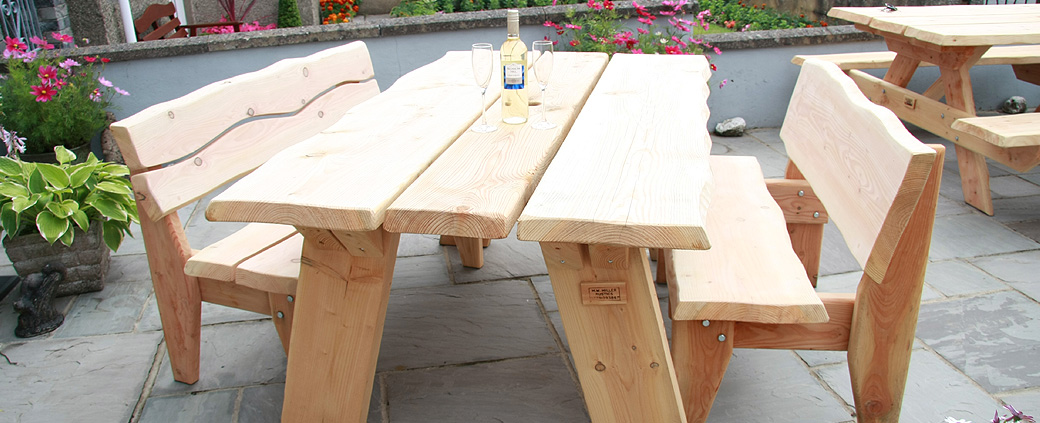 Buy Rustic Garden Furniture Hand Made In West Wales